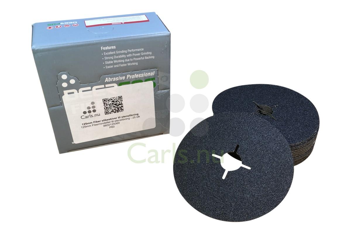 125mm Fiber slibeskiver til sten og beton