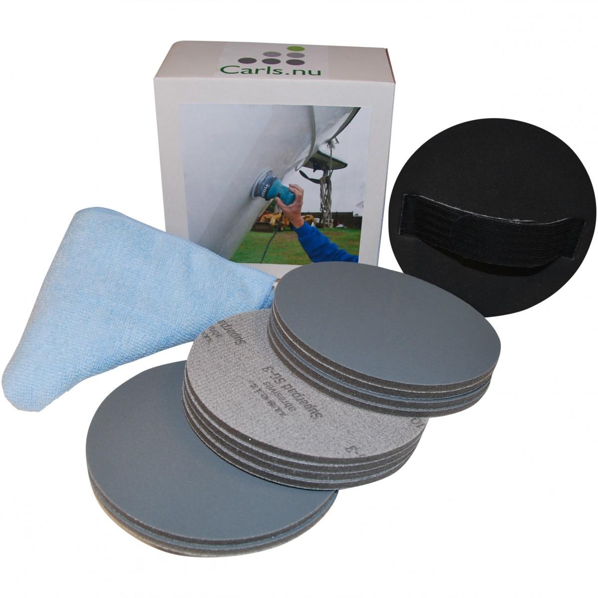 Carls Marine pre polishing kit