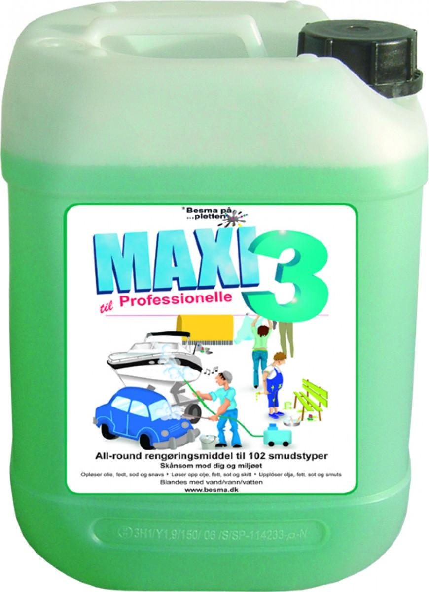 MAXI 3 Rensevæske - 5 ltr