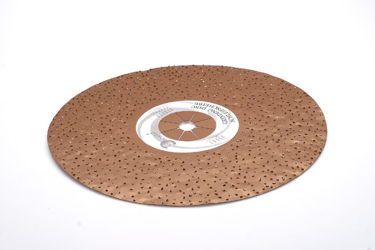 400mm Dobbeltside gulv sliberondel