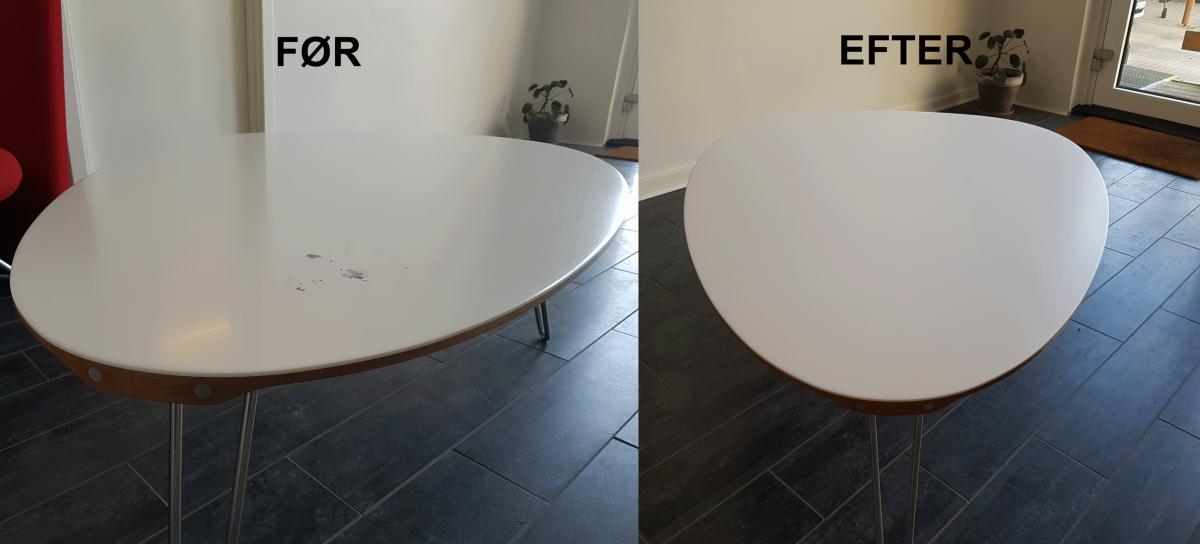 Sådan sliber du en Corian eller Hi-Mac bordplade