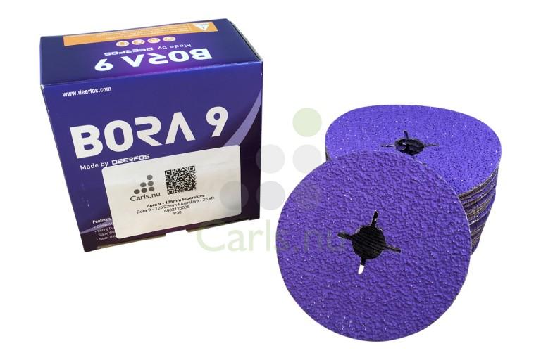 Bora 9 - 125mm Fiberskive