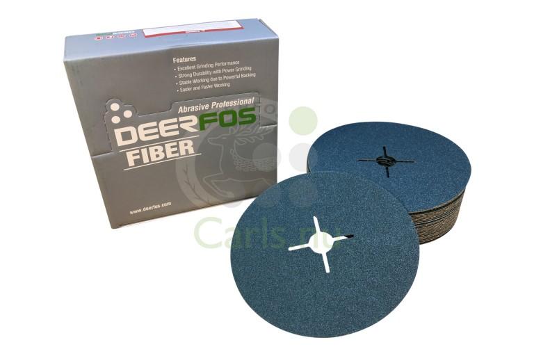 180mm Deerfos VZ133 ZIRKON Fiber sliberondeller - 25 stk