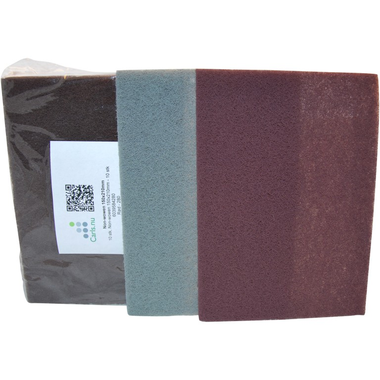 Non-wowen fleece slibepapir i ark - 150x230mm