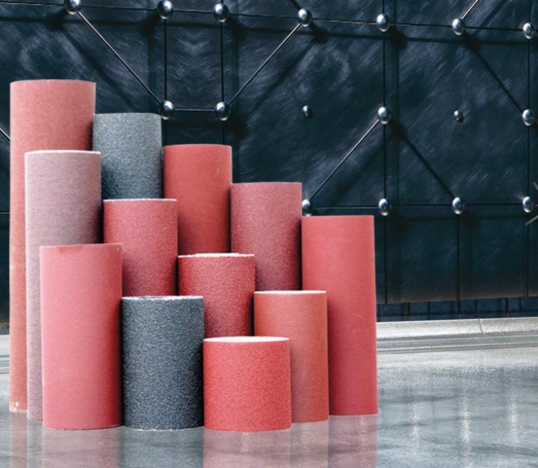 Jumbo roll Aluminium oxide - full bredde