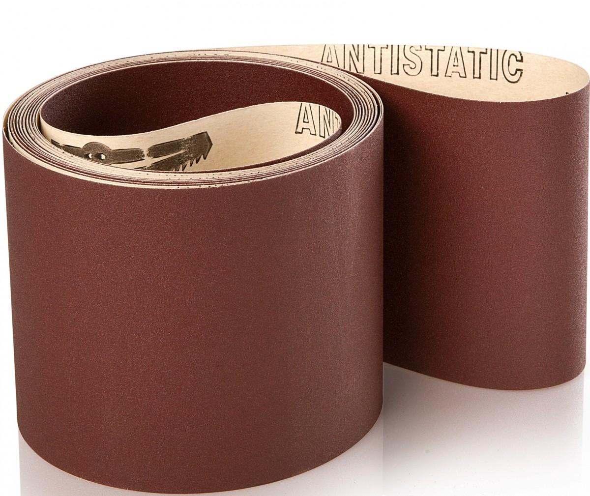 10 stk. Industri slibebånd på papir 150x7200mm