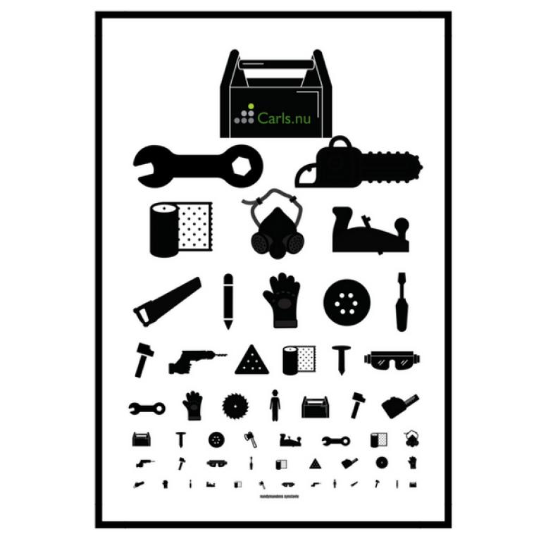 Handymandens Synstavle A2 plakat