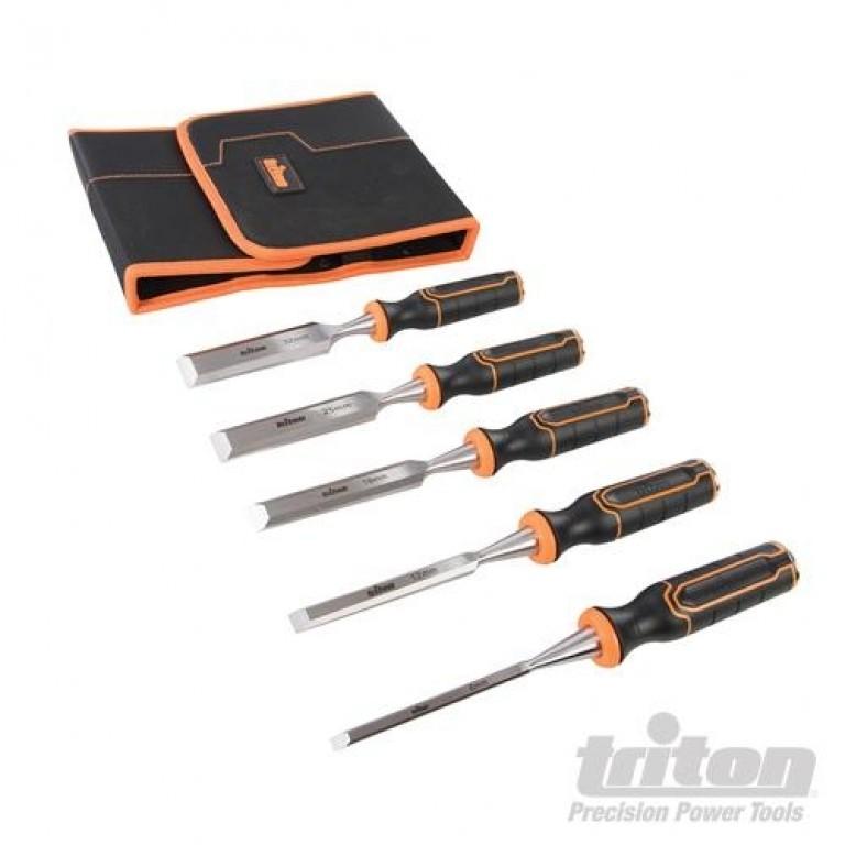 Triton stemmejernssæt 5 stk (6mm, 12mm, 19mm, 25mm & 32 mm)