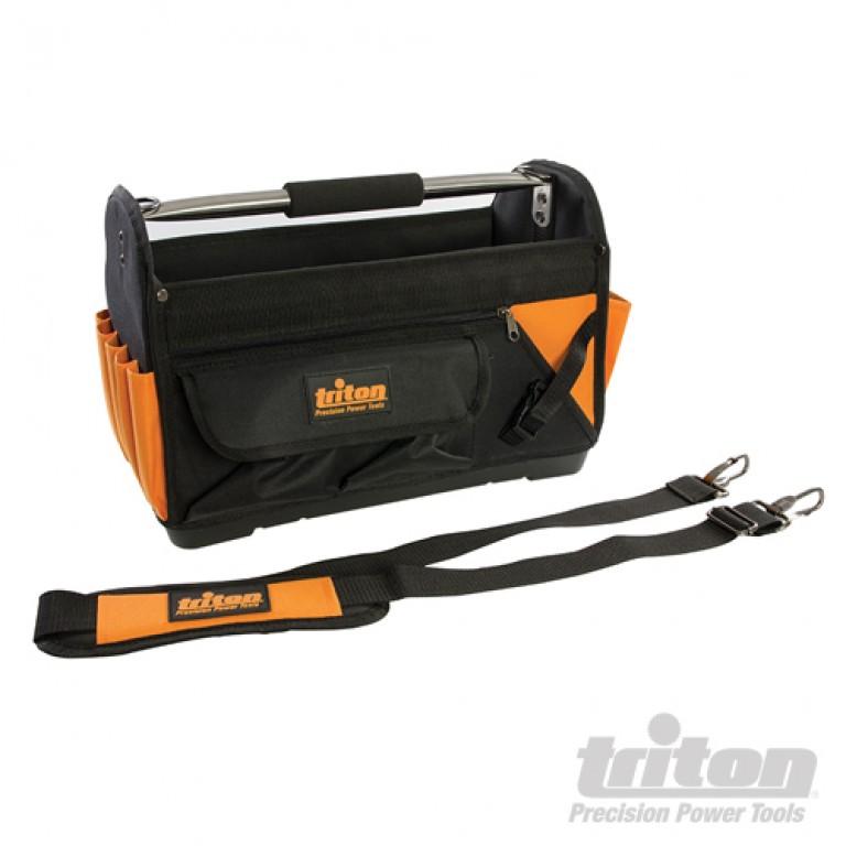 Triton værktøjskasse med hank & bæresele