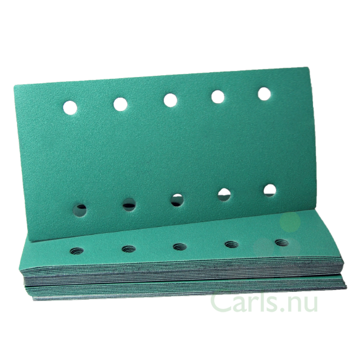 Sandpapir til rystepudser 115 x 230mm med velcro grip - 25 stk