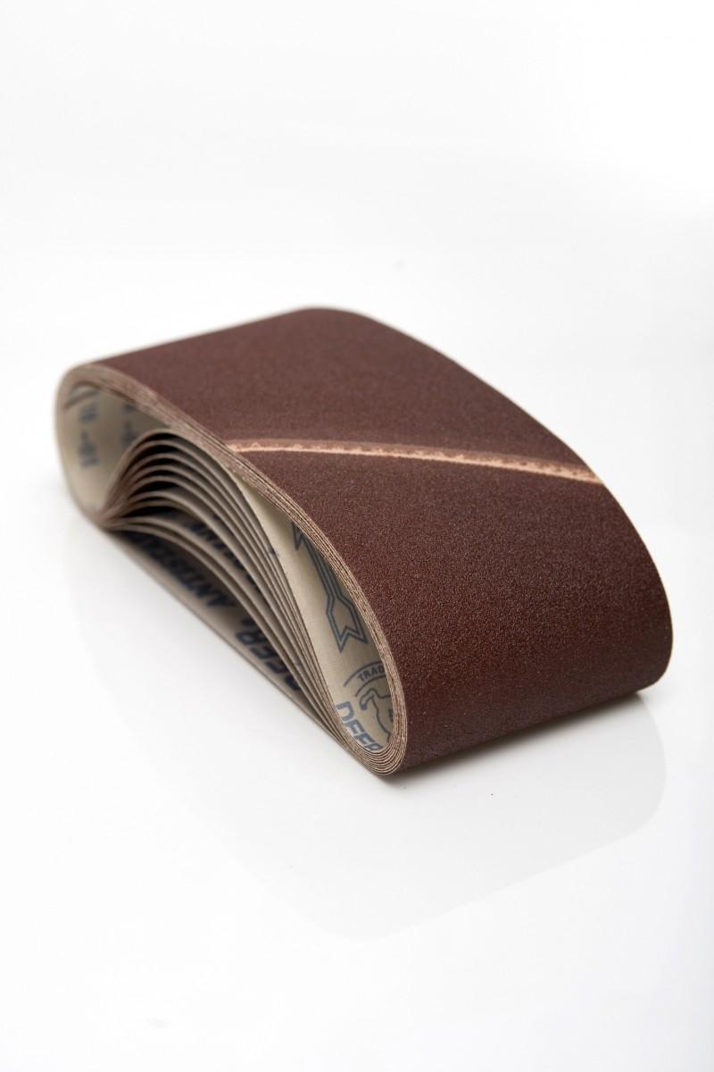 10 stk 75x575mm slibebånd til Metabo 4350 båndsliber K40-400