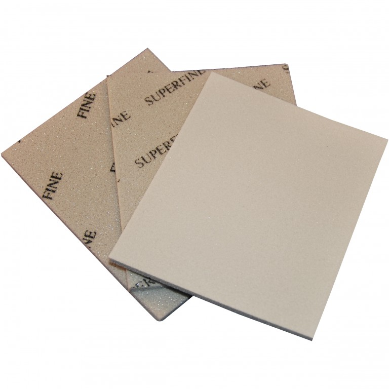 Soft sanding pads - 115x140x5mm