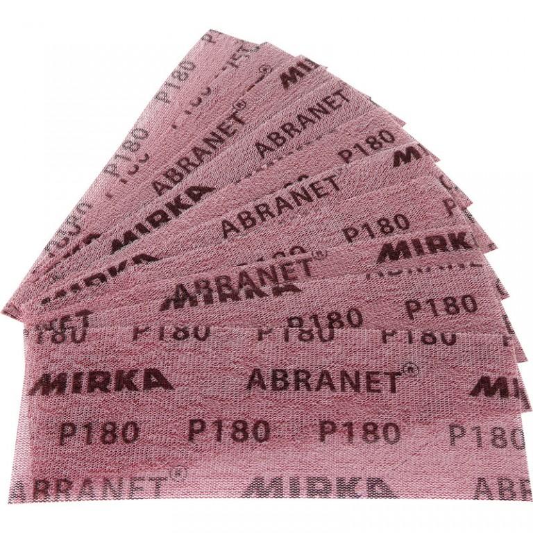 Abranet slibepapir 80x230mm (10 stk) for Mirka Handy