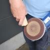 Rensestift til rensning af sandpapir, slibebånd og rondeller 35x35x203mm