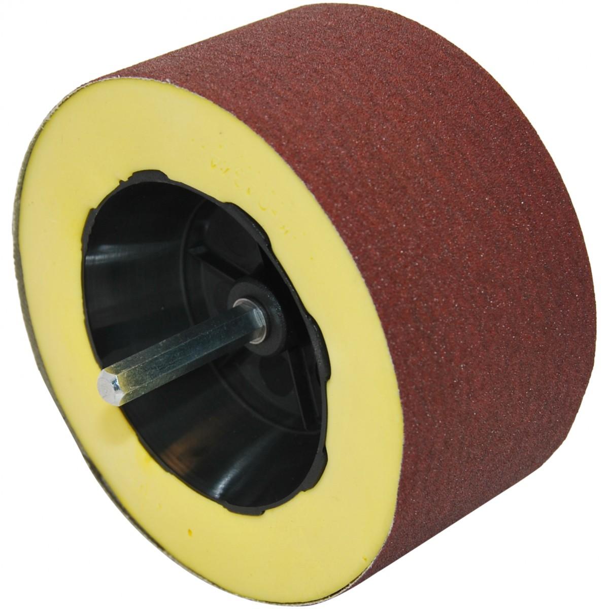 Supersander - Fleksibel sliberulle til borremaskine og lignende