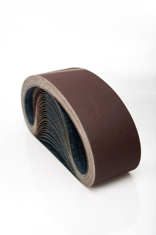 10 stk. Lærreds slibebånd 50x1020mm korn 24-400