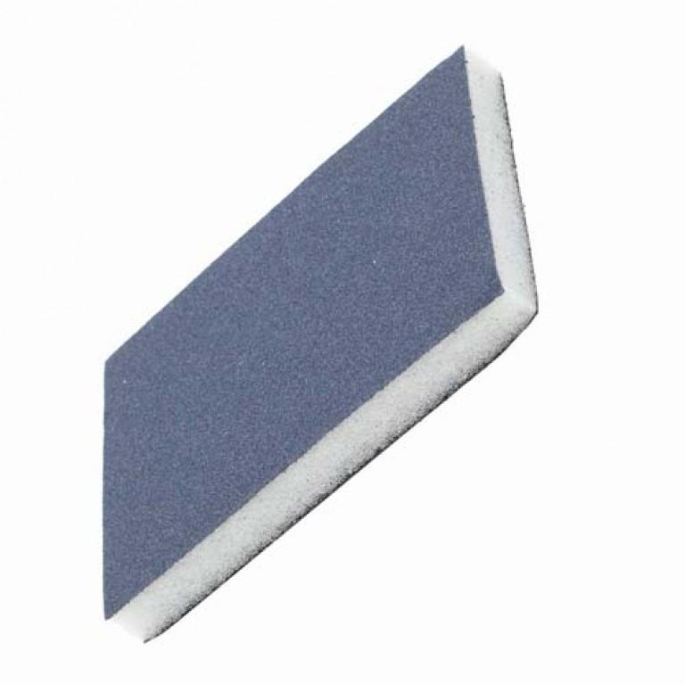 Slibesvampe 123x98x12mm - Sorte Silicium slibekorn