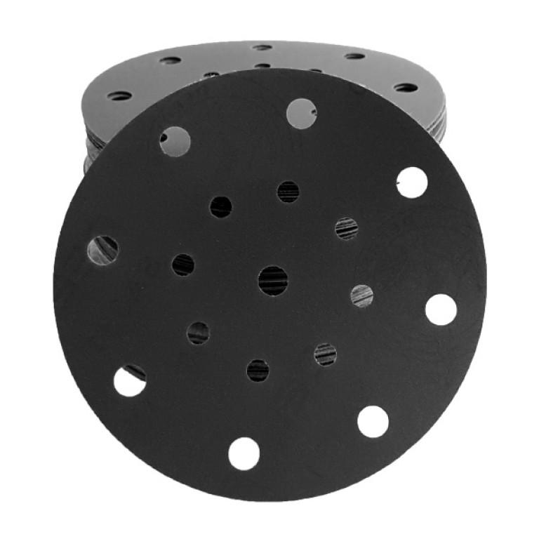 150 mm slipeskiver for betong, stein, mikrocement og konteco, 17 hull - 25 stk