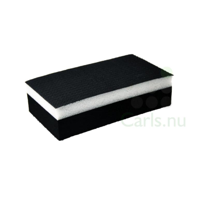 70x125mm Håndslipeblokk Hard + myk side