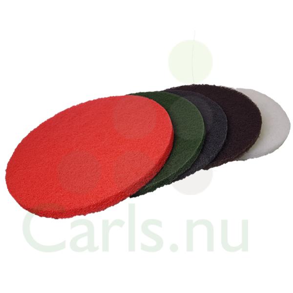 """Image of   Rengørings- og polerpads 16"""" Tyk Farver Brun"""