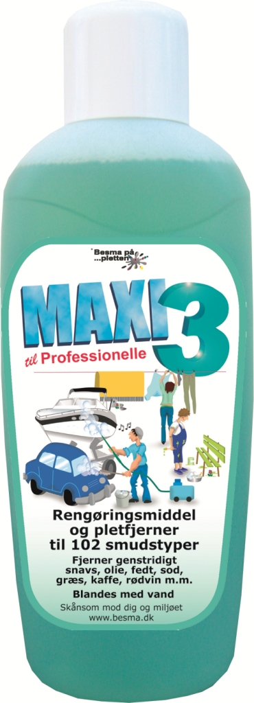 Maxi 3 Rensevæske