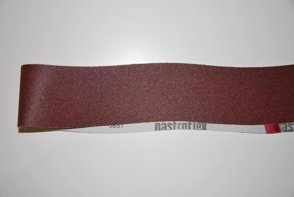 Kurvede slibebånd 80x1220mm
