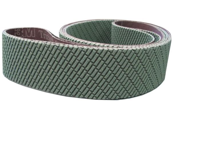 Image of   50x2000mm sandpapir til metal - 3 stk slibebånd Korn A100