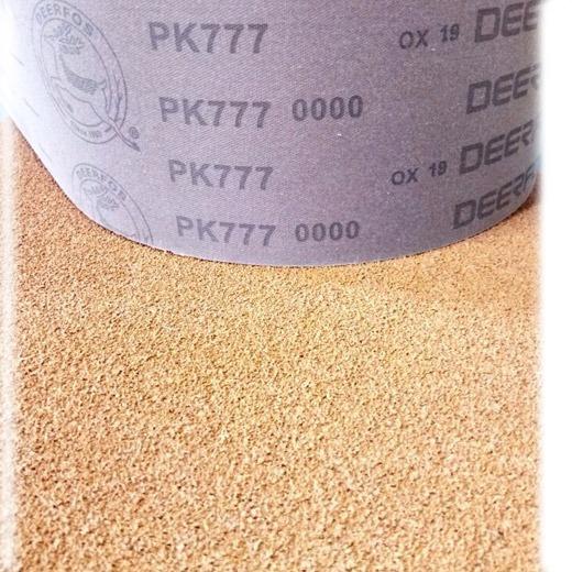 Image of   50x2000 mm Kork slibebånd Korn 0000 - uden slibekorn
