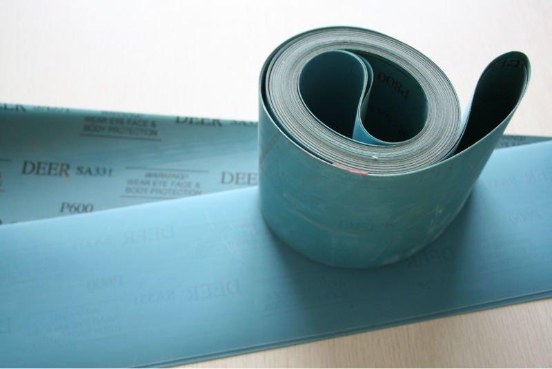 Lange slibebånd på film 150x6350mm